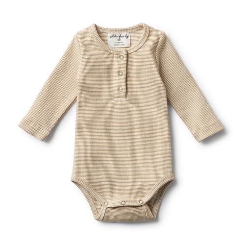 Wilson&Frenchy – Organic Caramel Rib Bodysuit
