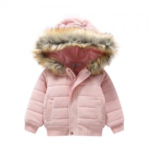 CRACKED SODA – Junior Girls Velvet Hoodie Jacket