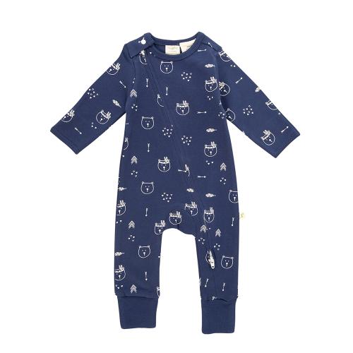 Tiny Twig – Zipsuit L/S – Bear Hugs