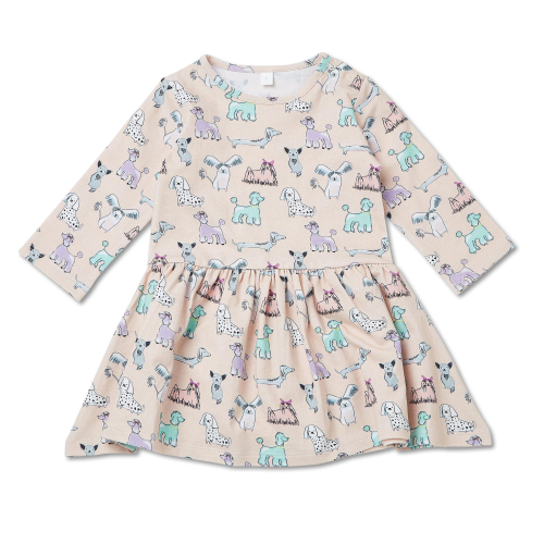 WALNUT – Pipper Dress Poodle Party