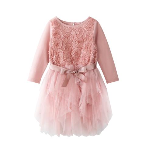 CRACKED SODA – 3D Flower Tutu Dress
