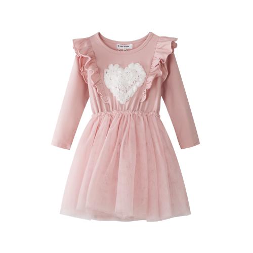 CRACKED SODA – Lace Heart Tutu Dress