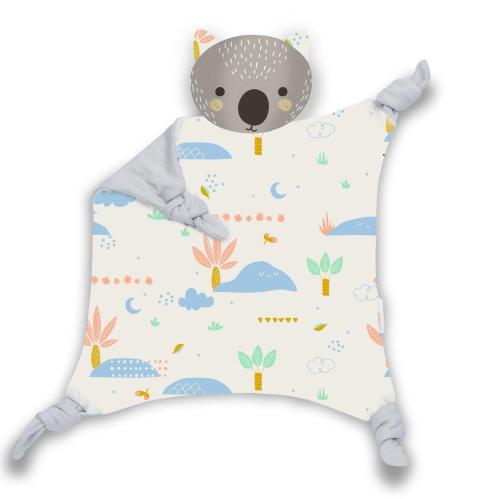 Kippins – Dusty Kippin Organic Cotton Cuddle Blankie
