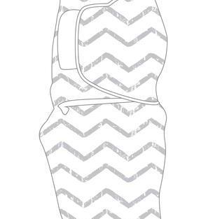 BABY STUDIO – Swaddlewrap Large LINES