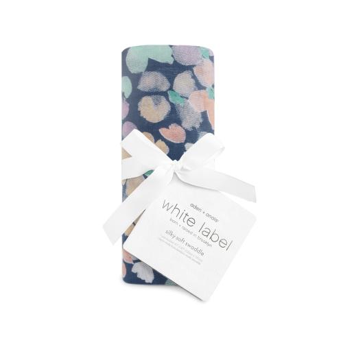 ADEN+ANAIS – Silky Soft Swaddle – festival dark mosaic
