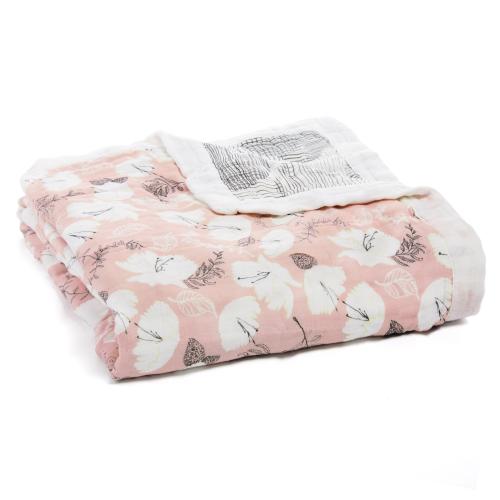 ADEN+ANAIS – Silky Soft Blanket – Pretty Petals