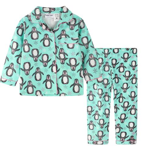 Tweet Twoo – Penguin Flannelette PJ's