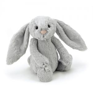 JellyCat – Bashful Silver Bunny Small