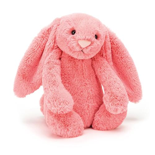 JellyCat – Bashful Coral Bunny Medium