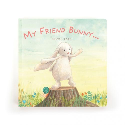 JellyCat – My Friend Bunny Book