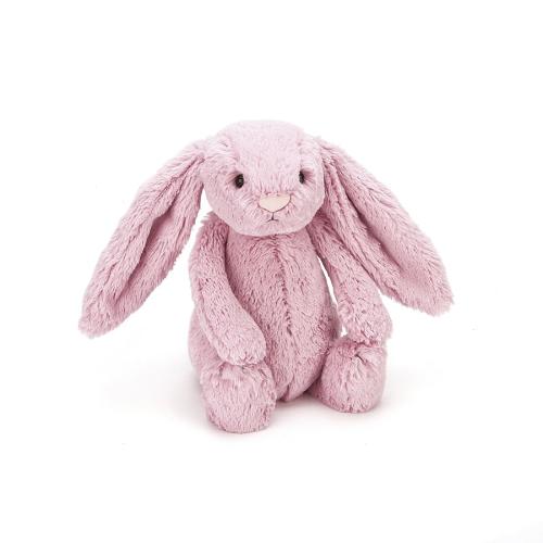 JellyCat – Bashful Pink Tulip Bunny Small