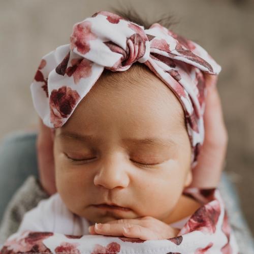 SNUGGLE HUNNY – Fleur Topknot Headband