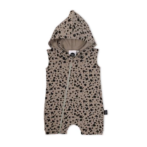 KAPOW – Terrazzo Hooded Romper