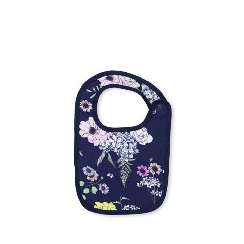 MILKY – Navy Floral Bib