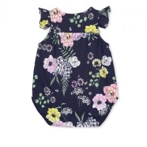 MILKY – Navy Floral Playsuit