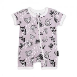 Aster&Oak – Butterfly Short Zip Romper