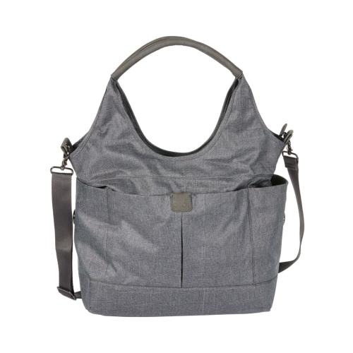 OiOi – Tote Slouch Nappy Bag – Denim Grey