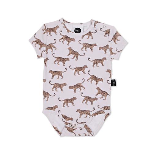 KAPOW – Leopard Baby Bodysuit