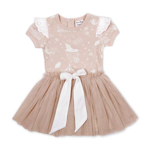 Aster&Oak – Peach Circus Tutu Dress