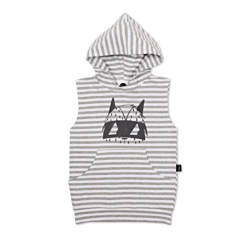 KAPOW – Bandit Hooded Sleeveless Vest
