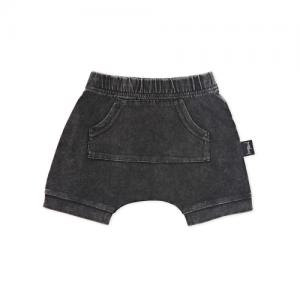 KAPOW – Acid Wash Baby Harem Shorts