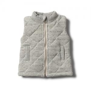 Wilson&Frenchy – Fleck Melange Quilted Vest