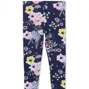 MILKY – Navy Floral Legging