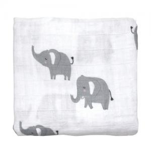 Mister Fly – Elephant Muslin Wrap