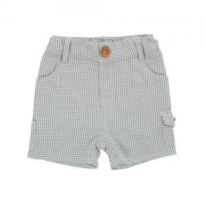 Tiny Twig – Cargo Shorts Olive Checks