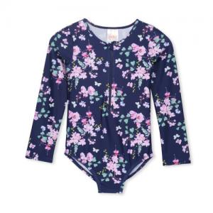 Milky – Floral L/S Swimsuit