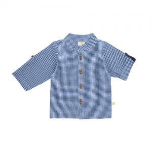 Tiny Twig – Gandhi Shirt Navy Checks