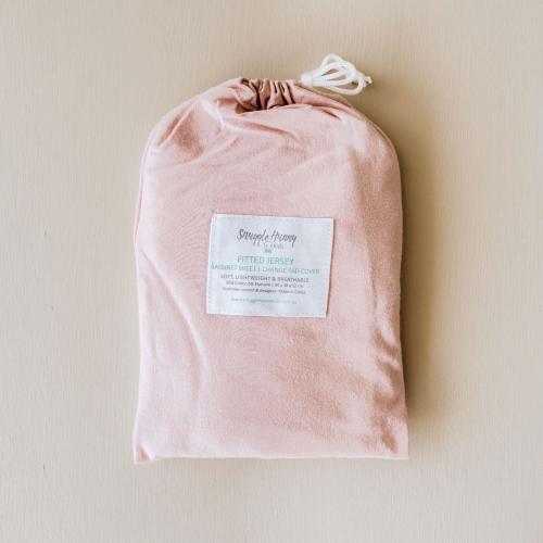 SNUGGLE HUNNY – Lullaby Pink | Bassinet Sheet