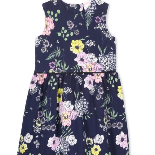 Milky – Navy Floral Dress