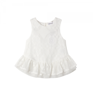 Cracked Soda – Lace and tulle Top