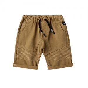 Cracked Soda – Detailed Shorts Tan
