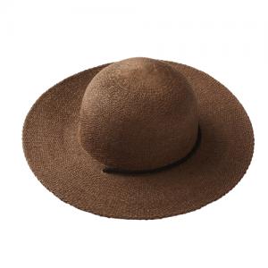Acorn – Venice Flat Brim Straw Hat