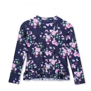 Milky – Floral L/S Rash Vest