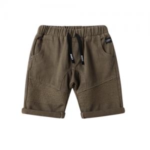 Cracked Soda – Detailed Shorts Khaki