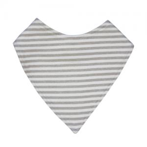 Mister Fly – Grey Stripe Dribble Bib