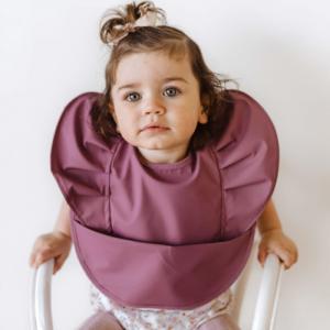 Snuggle Hunny – Mauve | Snuggle Bib Waterproof