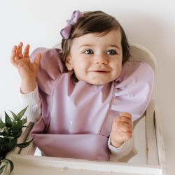 SNUGGLE HUNNY – Lavender | Snuggle Bib Waterproof