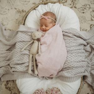Snuggle Hunny – Fairytale I Organic Muslin Wrap