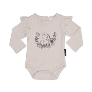 ASter&Oak – Bunny Print Flutter Onesie