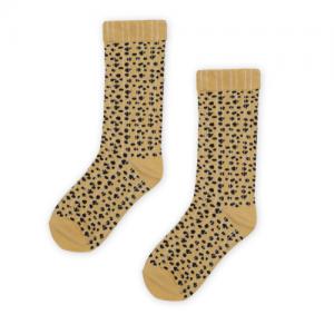 KAPOW – Speckle Ribbed Knee High Socks