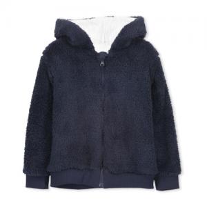 Milky – Sherpa Zip Hood