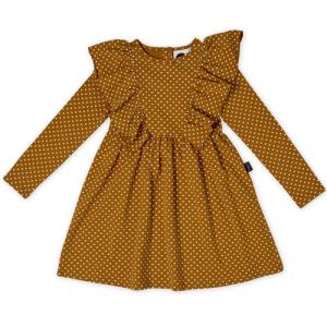 KAPOW – Straight from the Heart Ruffle Waisted Dress