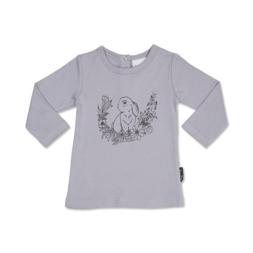 ASter&Oak – Bunny Print Long Sleeve Tee