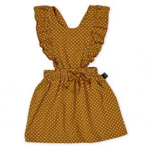 KAPOW – Straight from the Heart – Ruffle Pinafore Dress