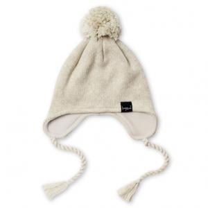 KAPOW – Oatmeal Knit Pom Pom Beanie