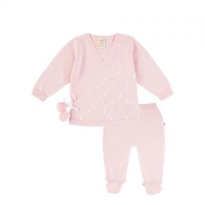 Tiny Twig – Knitted Kimono Set